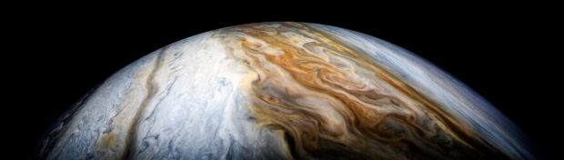 فضاپیمای 1 میلیارد دلاری ناسا تازهترین تصاویر سیاره مشتری را به زمین فرستاد