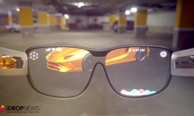 عکسهای مفهومی عینک واقعیت افزوده اپل