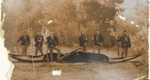 آیا عکس دایناسور شکار شده در جنگ داخلی آمریکا واقعی است؟!