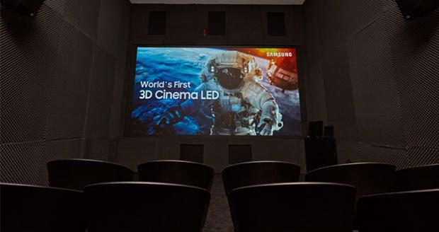 سینما ال ای دی 3 بعدی سامسونگ