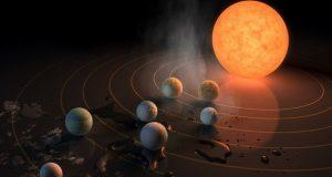 برخی از سیاره های منظومه تراپیست 1 از کره خاکی ما هم بیشتر آب دارند!