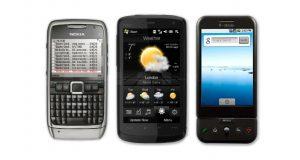 گوشی های برتر 10 سال پیش
