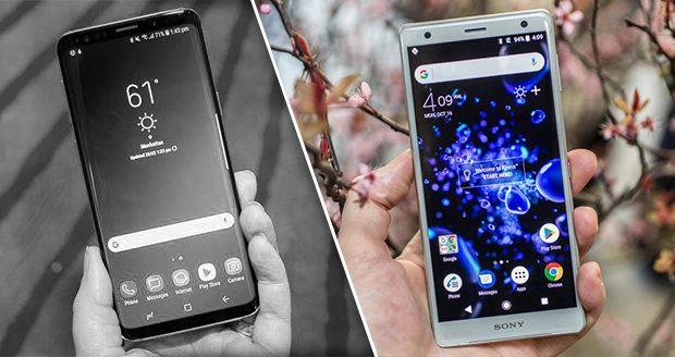 سونی Xperia XZ2 بهتر از Galaxy S9 سامسونگ
