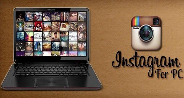 ارسال عکس در اینستاگرام بدون گوشی