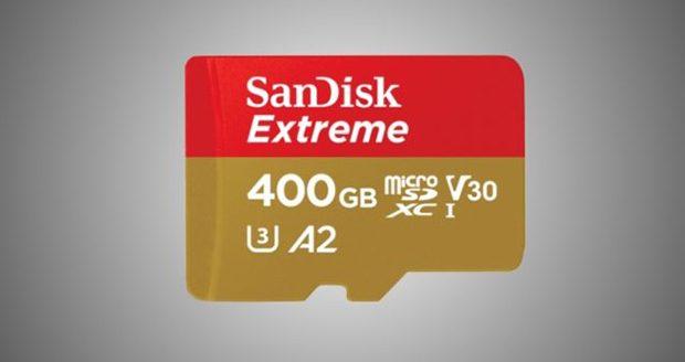 کارت میکرو اس دی 400 گیگابایتی SanDisk