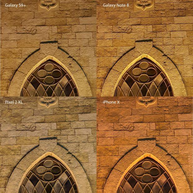 مقایسه دوربین گلکسی اس 9 پلاس