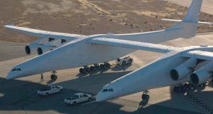 نگاهی به هواپیمای استراتولانچ (Stratolaunch)، بزرگترین هواپیمای جهان + ویدیو