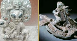 آیا آثار باستانی قوم مایا از ارتباط این تمدن با موجودات فضایی خبر میدهند؟