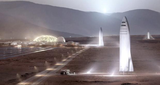 سیستم موشکی مریخ اسپیس ایکس در نیمه اول 2019 امتحان خواهد شد