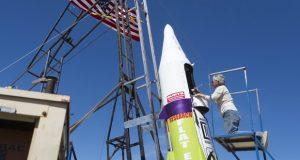 موشک آماتوری زمین تخت سرانجام به هوا رفت! + ویدیو