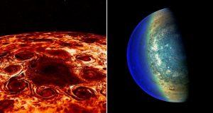 گردبادهای عظیم سیاره مشتری از آنچه تصور میشود ناشناختهتر هستند!