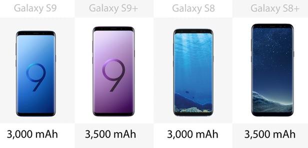 مقایسه گلکسی اس 9 و اس 9 پلاس با گلکسی اس 8 و اس 8 پلاس سامسونگ
