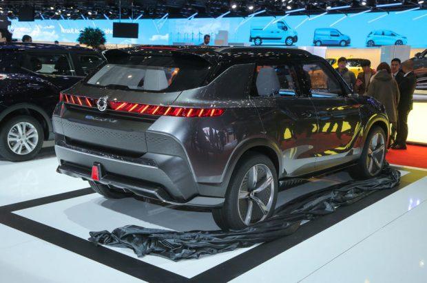 خودرو مفهومی سانگ یانگ e-SIV