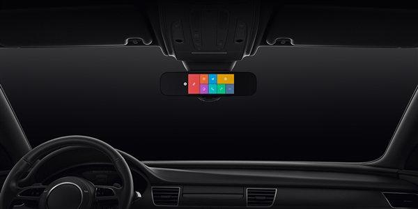 نسل جدید آینه هوشمند خودرو شیائومی