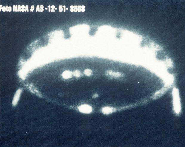 تصاویر عجیب و منتشرنشده از برخورد با یوفوها در ماموریت های آپولو ناسا
