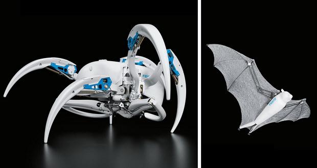 عنکبوت رباتیک و ربات خفاشی شگفتانگیز شرکت فستو معرفی شدند + ویدیو