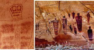 با سنگنگارههای فرازمینی های باستانی یوتا آشنا شوید!