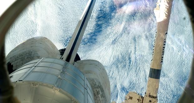 ماجرای یوفو ماموریت شاتل که بازگشت فضانوردان به زمین را مختل کرد + ویدیو (بررسی سردبیر)