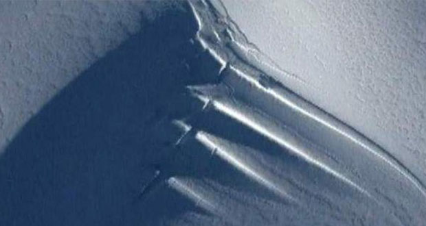آنتن عظیم و ناشناخته در قطب جنوب