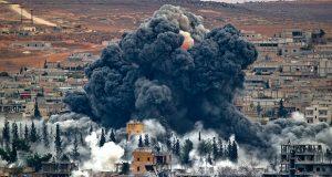 تصاویر ماهواره ای از محل اصابت موشک های آمریکایی قبل و بعد از حمله به سوریه