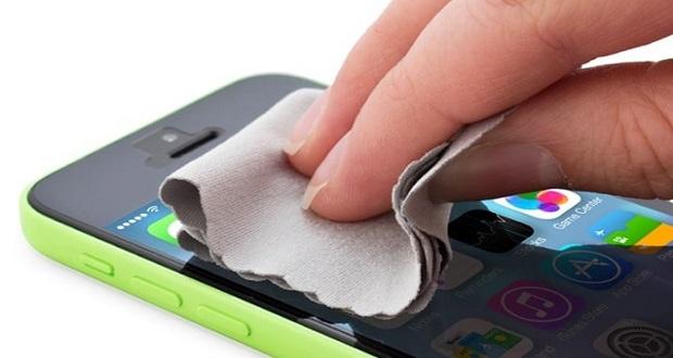 تمیز کردن گوشی هوشمند