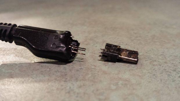 USB Burned