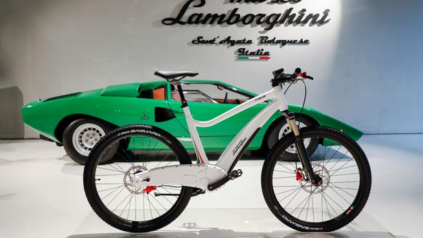دوچرخه های برقی لامبورگینی