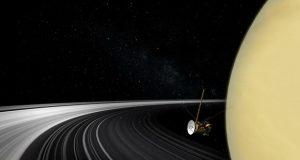 عکس جدید فضاپیمای کاسینی یکی دیگر از شگفتیهای کیهان را نمایان کرد
