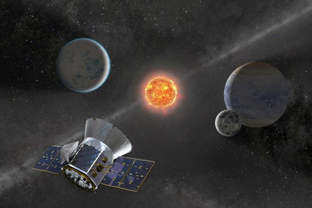 اسپیس ایکس تلسکوپ فضایی تس ناسا را با موفقیت به فضا برد + ویدیو