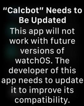 هشدار watchOS 4.3.1