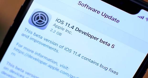 نسخه بتای آی او اس 11.4