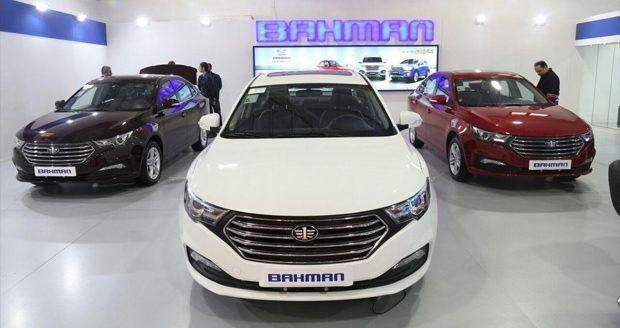 قیمت خودروهای گروه بهمن