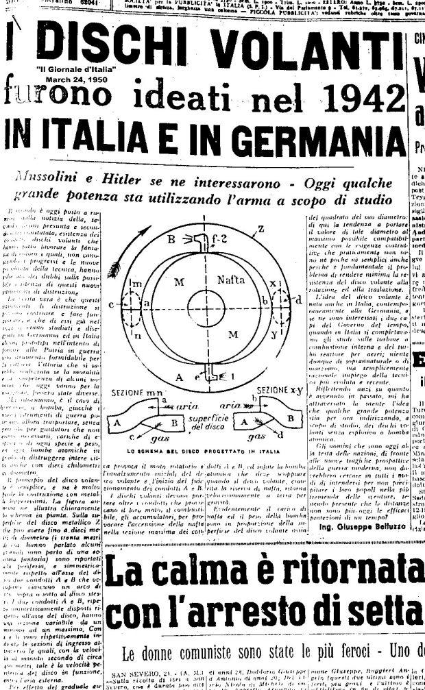 اسناد محرمانه CIA نشان میدهند که آلمان نازی موفق به ساخت یوفو شده بود!