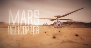 هلیکوپتر مریخی ناسا آسمان سیاره سرخ را به تسخیر خود درمیآورد