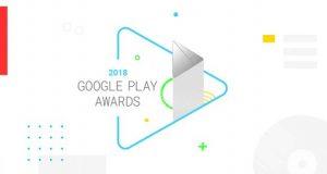 جوایز گوگل پلی 2018