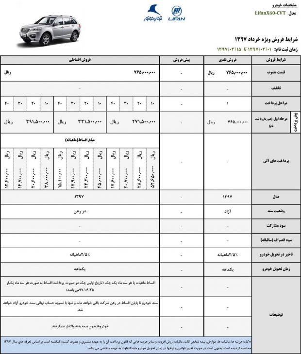 شرایط فروش محصولات کرمان موتور