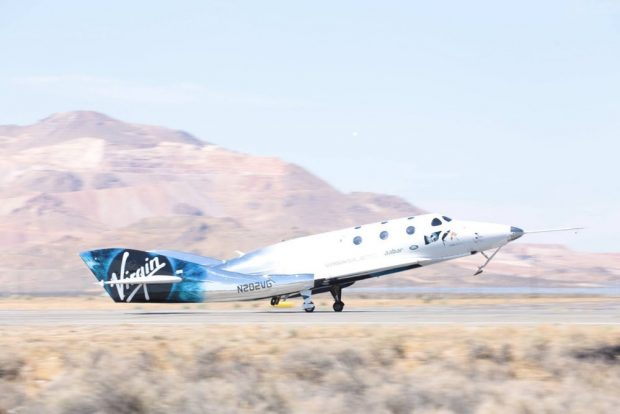 فضاپیمای شرکت Virgin Galactic
