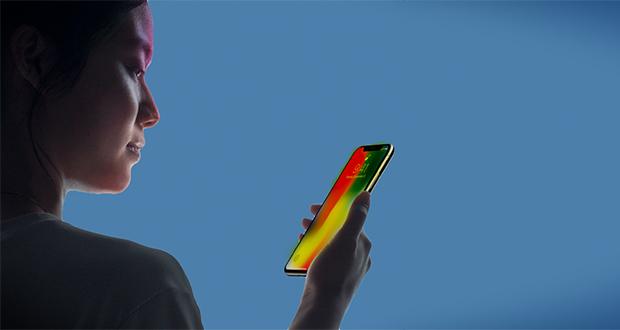 تشخیص چهره سه بعدی اپل