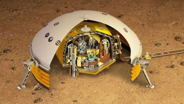 فضاپیمای اینسایت با موفقیت به سمت مریخ پرتاب شد+ویدیو
