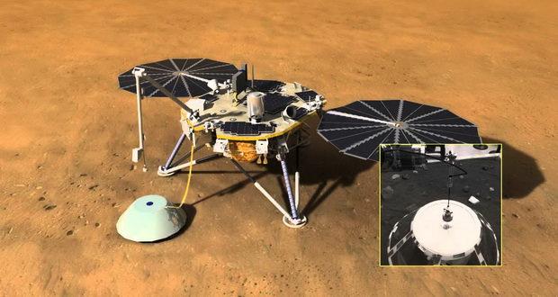 نگاهی به ماموریت کاوشگر اینسایت که در چند روز آینده به مریخ خواهد رفت