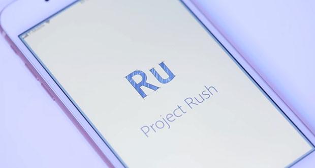 نرم افزار ویرایش فیلم Project Rush