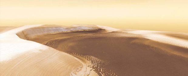 ترکیبات ارگانیک در مریخ