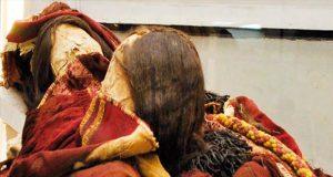 کشف جسد دختران مومیایی اینکایی
