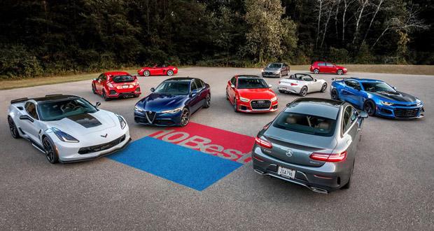 بهترین خودروهای سال 2018