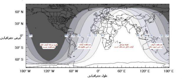 طولانی ترین ماه گرفتگی قرن 21