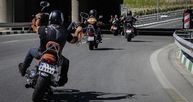 جریمه موتورسواران فاقد کلاه ایمنی