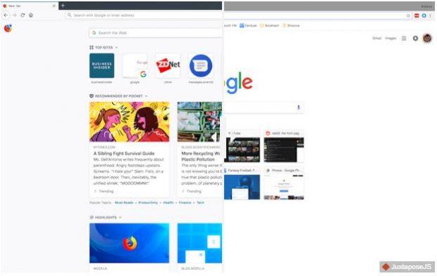 مقایسه مرورگر گوگل کروم با فایرفاکس