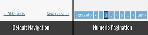 صفحه بندی مطالب در وردپرس