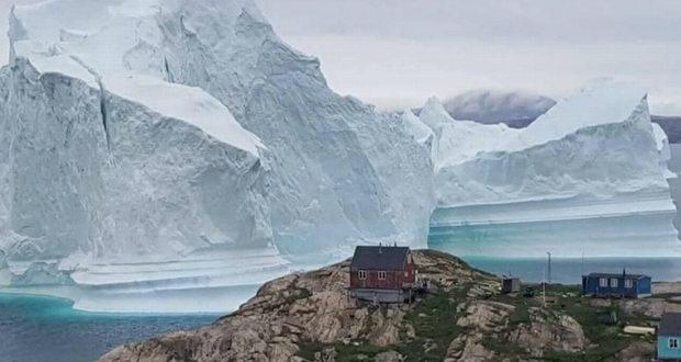کوه یخ گرینلند