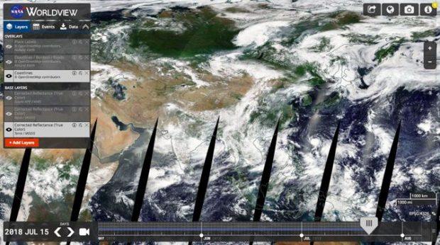 عکس های ماهواره ای